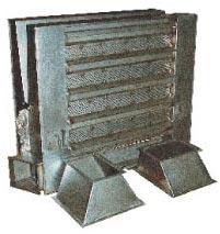 Caisson de ventilation acier