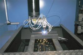 Soudure Laser avec ou sans fil d'apport.